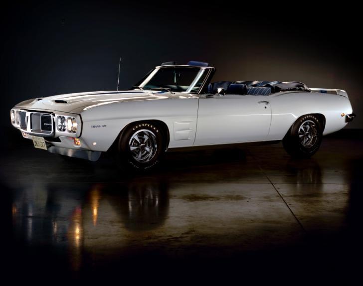 Top Muscle 69 Pontiac Firebird Tran Am. Rarest muscle cars from the 60s.