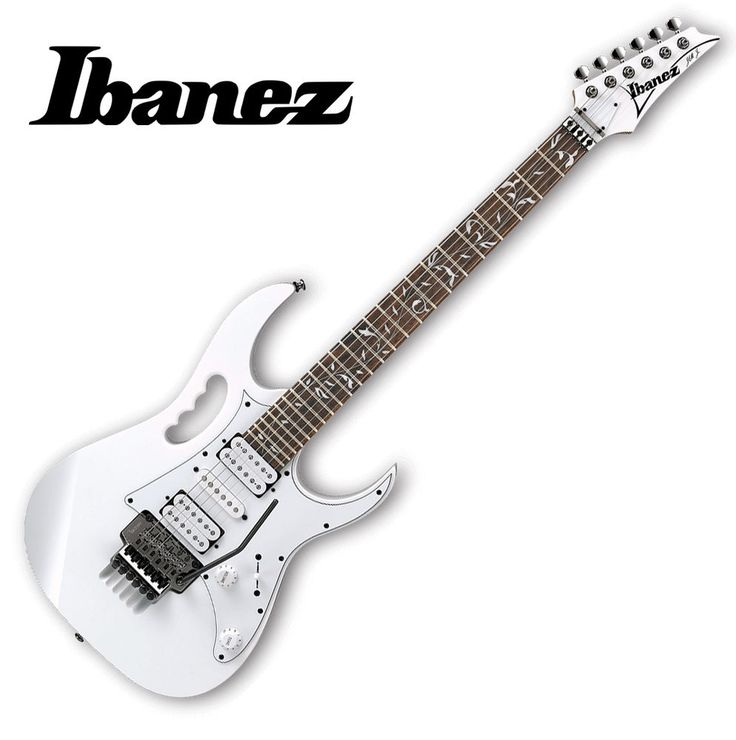 Ibanez JEM JR Junior Steve Vai Signature Electric Guitar White FR Floyd HSH #Notspecified