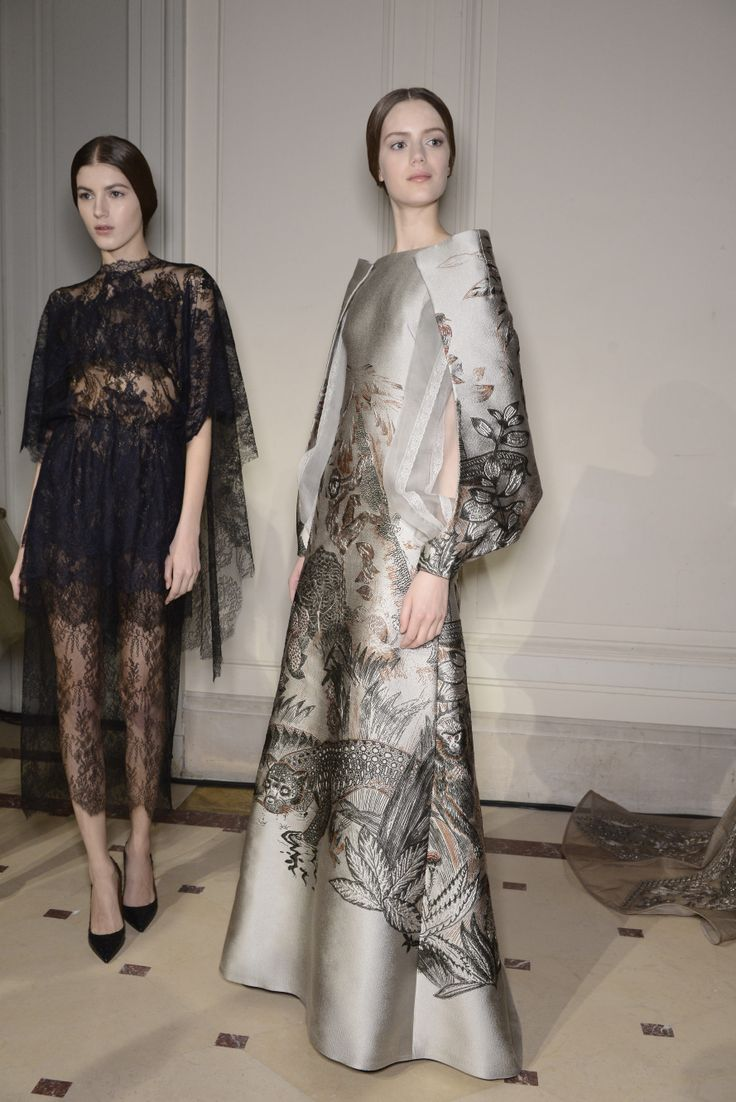 Valention Backstage Haute Couture Spring/Summer 2014