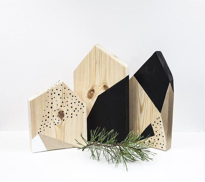 CLOUD Z3 Drewniane domki scandi design - KUKUdesign - Dekoracje