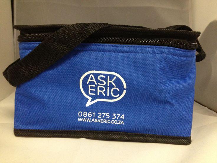 Blue Cooler bag - Ask Eric