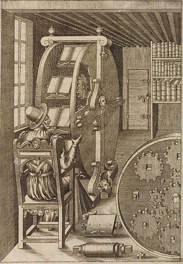 1588 Bookwheel - Agostino Ramelli