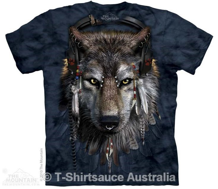DJ Fen Adults Wolf T-Shirt