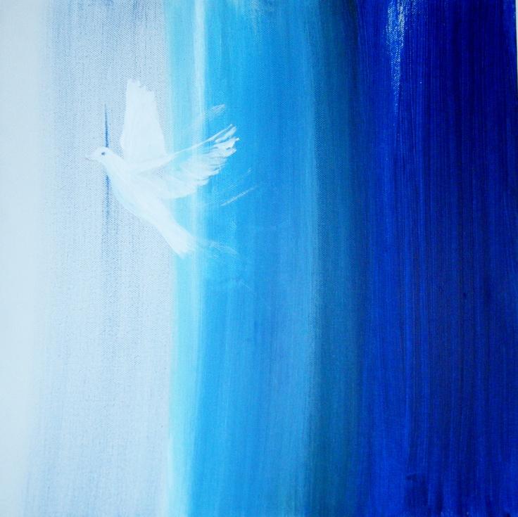 Painting £180 - Skylark 2 Gallery   Christmas Window