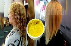 Straightening Hair PERMANENTLY With This Simple Recipe With 4 Ingredients (VIDEO)!