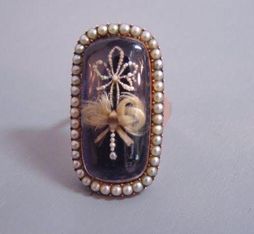 ~ Circa 1790 Mourning Ring ~