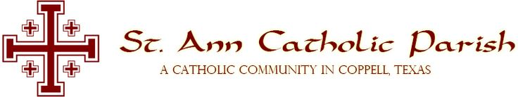 (13 minutes away from GWL) St. Ann Catholic Church: Mass Times Sunday 8:00 am, 10:00 am, 12:00 pm & 4:30 pm (Youth Mass) Spanish Mass/Misa en Español Sunday/Domingo 2:00 & 7:00 pm