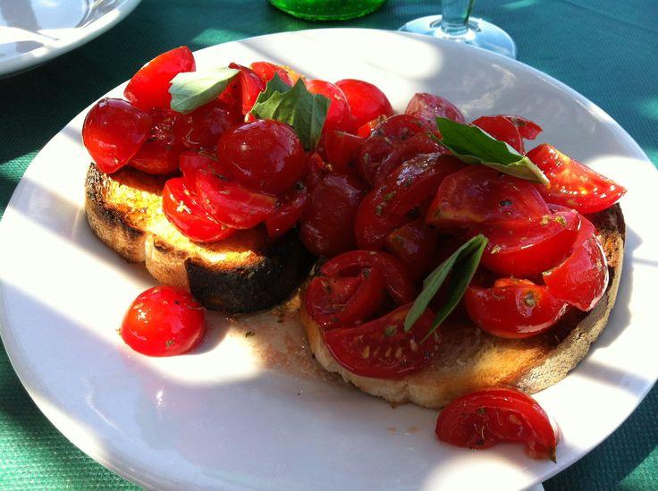 Ischia - Bruschetta al Pomodoro