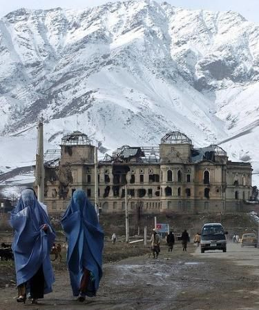 Afghanistan has such beautiful mountains. The turmoil the people have endured only makes the mountains seem more looming.