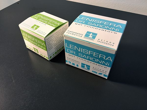 #Packaging Lenisfera