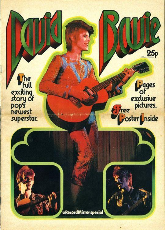 David Bowie - Record Mirror Magazine Special 1972