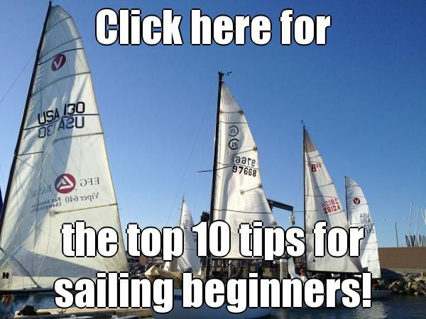Click here for the top 10 tips for #sailing beginners!