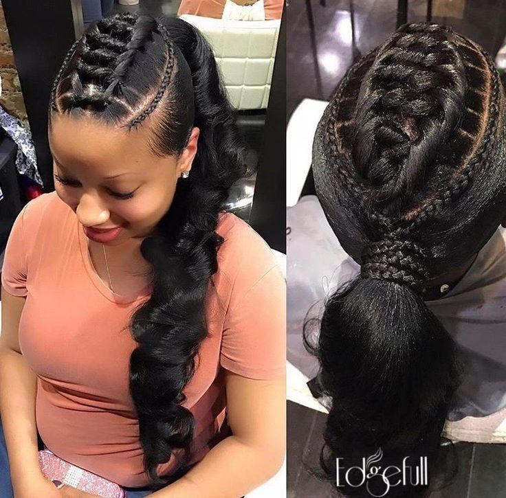 hair styles with clip in extensions 25 best ideas about black ponytail hairstyles on 7962 | 98303caf0493f0def8bef7962e7b39b3