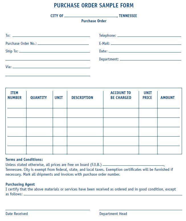 40 best Order form images on Pinterest Order form - Purchase Order Agreement Template