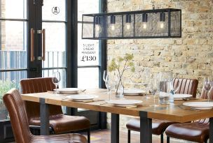 Buy Hudson Fixed 8 Seater Dining Table from the Next UK online shop