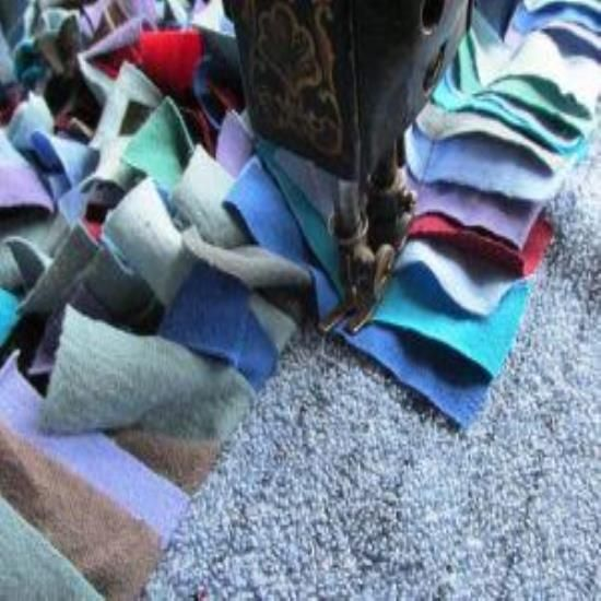 Make a Shag Rag Rug in a Few Hours - Homesteading and Livestock - MOTHER EARTH NEWS