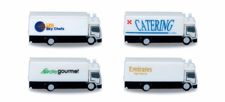 Herpa Airport catering Vehicles 1:500 290rb