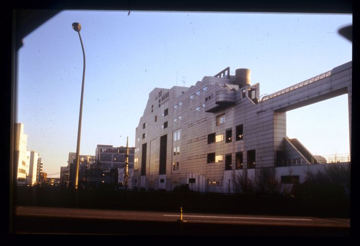 Hiroshi Hara   Oficinas Centrales de Yamato International   Ota, Tokio, Japón   1987