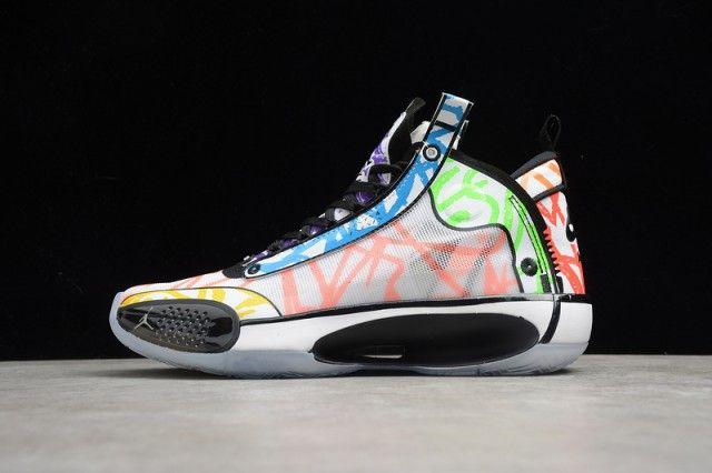 Zion Williamson X Air Jordan 34 Coloring Book Da1897 100 Men S Basketball Shoes Zapatos Nike Mujer Nike Mujer Nike