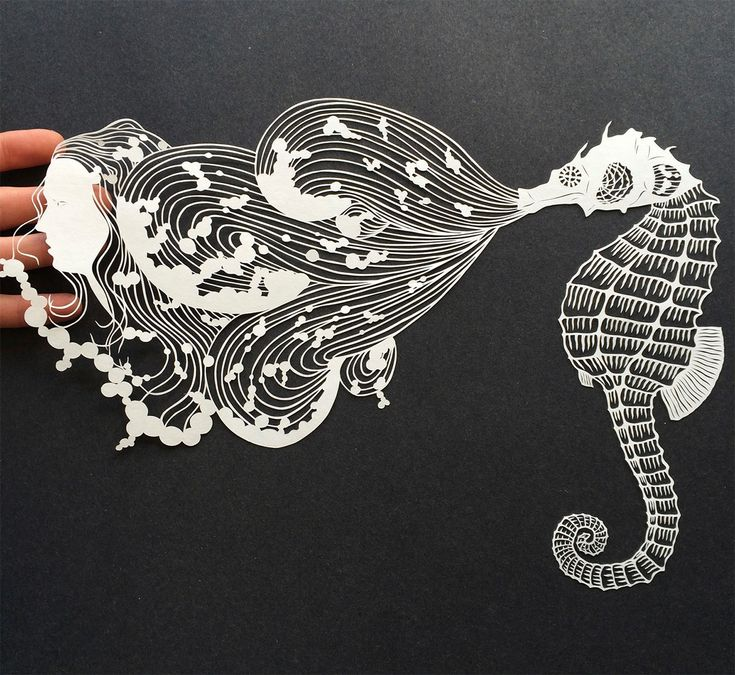 Meticulous Cut Paper Illustrations by Maude White