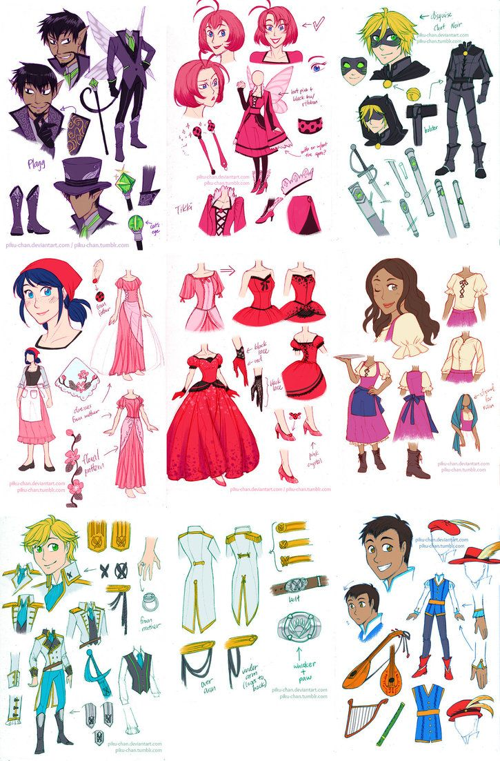 Tikki and Plagg are Marinette's and Adrien's respective fairy godparents. lya is Marinette's best friend since they were five and is a barmaid at one of the most popular taverns in the kingdom so she could get the latest gossip. Nino is Adrien's closest friend since they were eight, and works as a young minstrel at the palace. (The Cindererlla Story with Two Fairy Godparents by piku-chan on DeviantArt)
