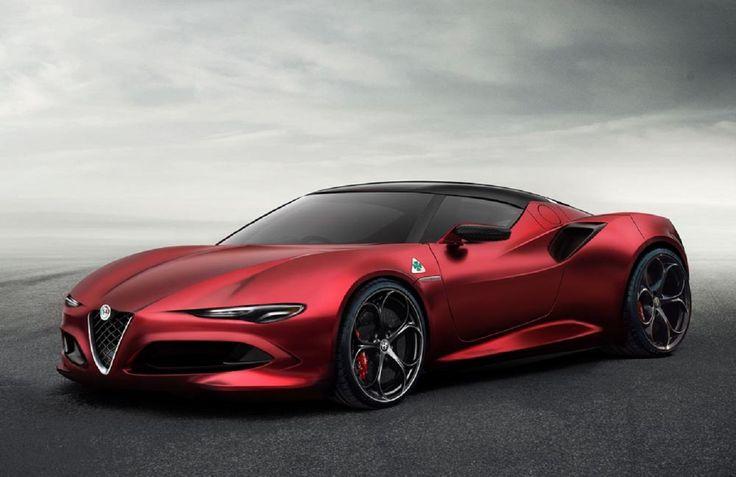 Alfa Romeo 8C: ecco l'ultima ipotesi