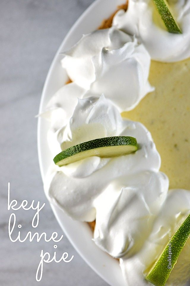 This updated key lime pie recipe comes together quickly and chills to a perfect light and airy consistency for an elegant key lime pie you'll love.