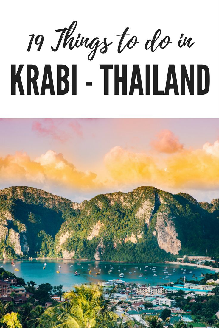 19 Things to do in Krabi – Thailand #Krabi #Thailand
