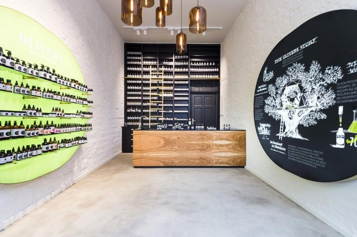Oliveda flagship store by DFROST, Berlin – Germany » Retail Design Blog