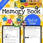 End of Year Memory Book - School Themed - This end of year memory book includes 18 pages of school themed end of year activities.  It comes in blac...