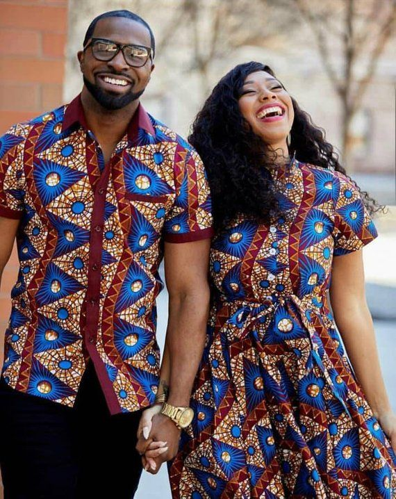 Couples matching outfits African clothing for couplesAfrican ...