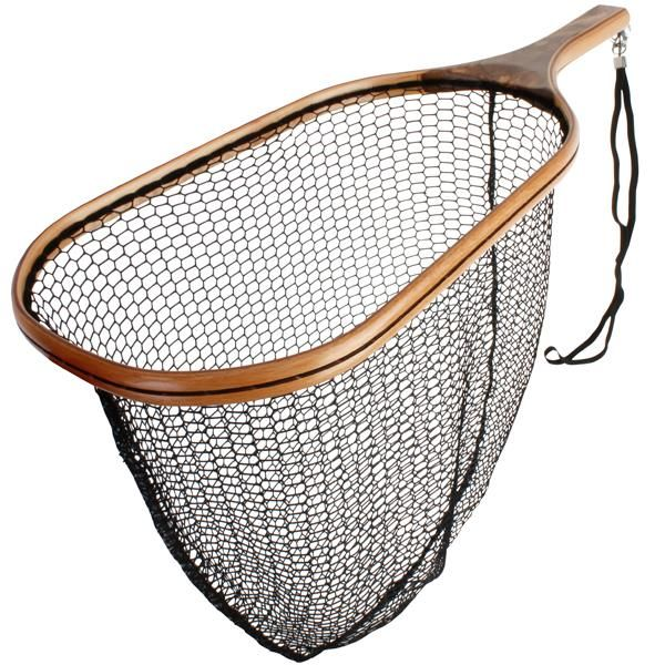Scierra Trout Wooden Net is made from well sourced, high quality wood, is available in small and medium sizes and are ideal for landing all sizes of trout. #fishing #scierra #flyfishing #troutfishing #fishingnet