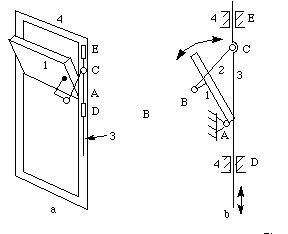 Transom angle adjustment mechanism. Basic Kinematics of