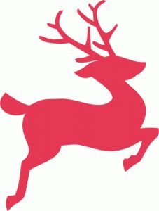 Silhouette Design Store - View Design #69634: christmas reindeer silhouette