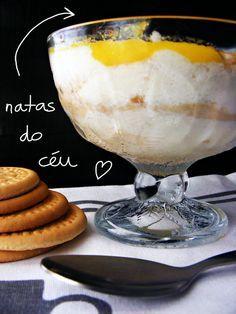 Portuguese Food: Natas do céu