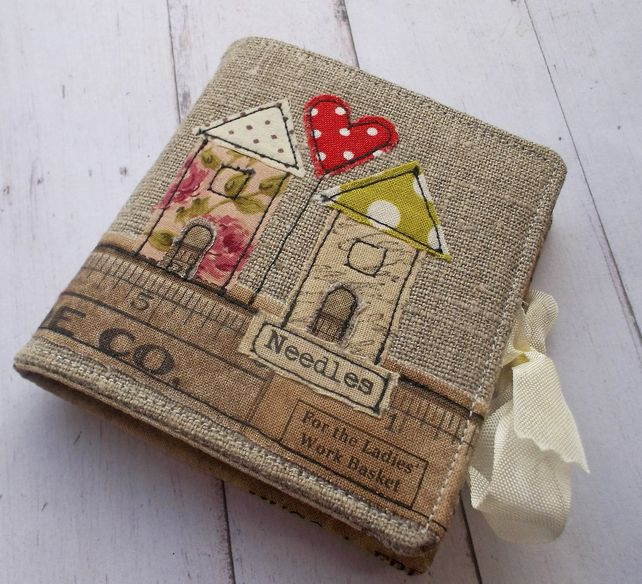 Linen Handmade Sewing Needle Case                                                                                                                                                      More