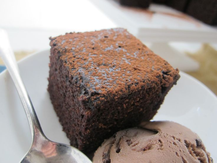 Chocolate Vinegar Cake – My mom made this cake all the time when we were little