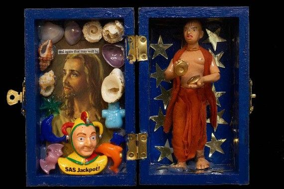 Jesus, a joker amd a buddhist box of kipple