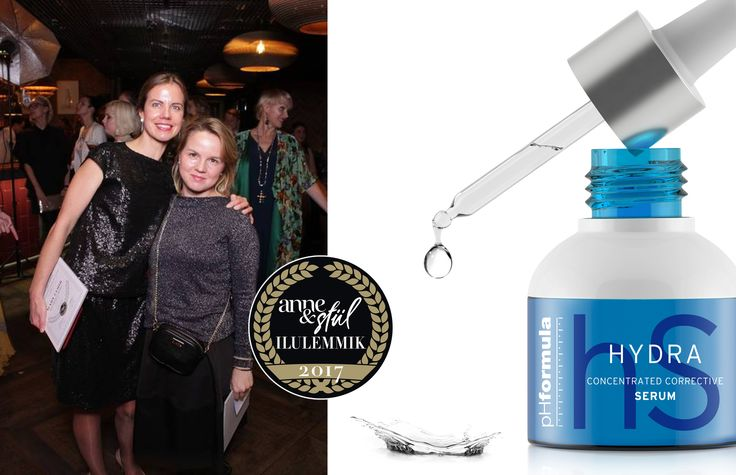 pHformula's HYDRA Serum was awarded the Beauty's favorite award 2017 in the face category, by one of Estonia's biggest Women's Magazine - Anne & Stiil. Congratulations to the pHformula team in Estonia - we are very proud to receive this award!  #awardseason #innovation #skincare #winningstreak