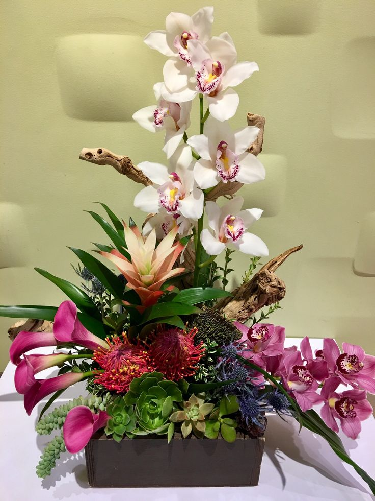 Send the origami bouquet of flowers from Downtown Flowers in Los Angeles, CA. Local fresh flower delivery directly from the florist and never in a box!