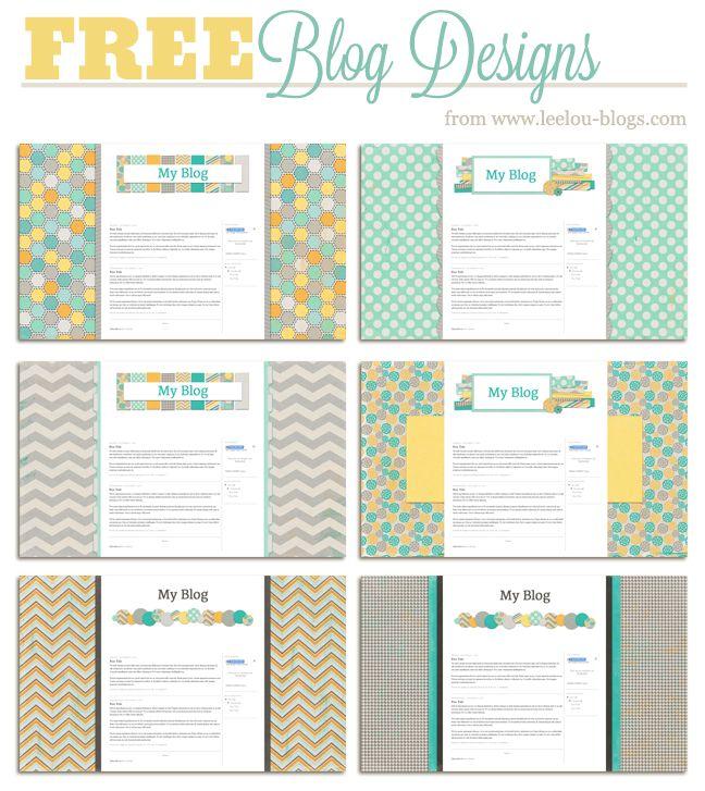 Free Blogger Blog Backgrounds