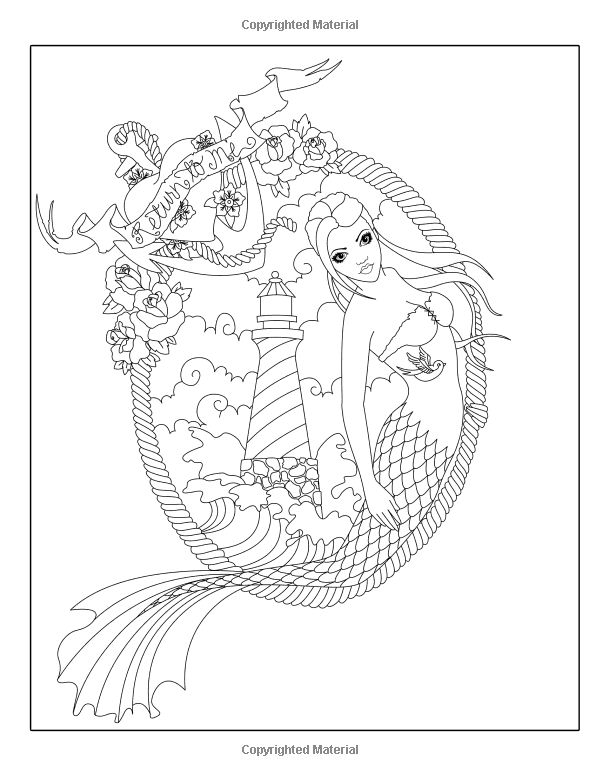 Best 35 Fairy Adult Coloring Books images on Pinterest | Coloring ...