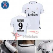 Fr-Football: Paris PSG 2016-2017 Saison Flocage Maillot De Foot Cavani 9 Third Blanc |Thai Edition
