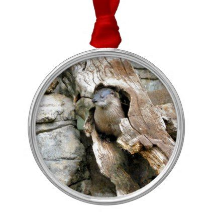 Harry Otter Metal Ornament - photography gifts diy custom unique special