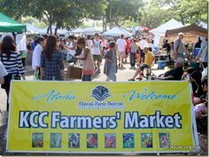 KCC Farmers' Market: Saturday mornings in Honolulu (near Diamond Head). Awesome market that's worth getting up early for.