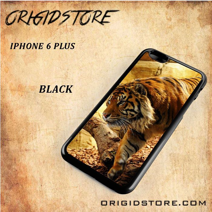 Tiger Hunter Black White Snap On Or 3D For Iphone 6 Plus