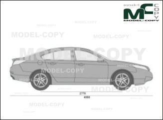 Acura TL (2009) - drawing