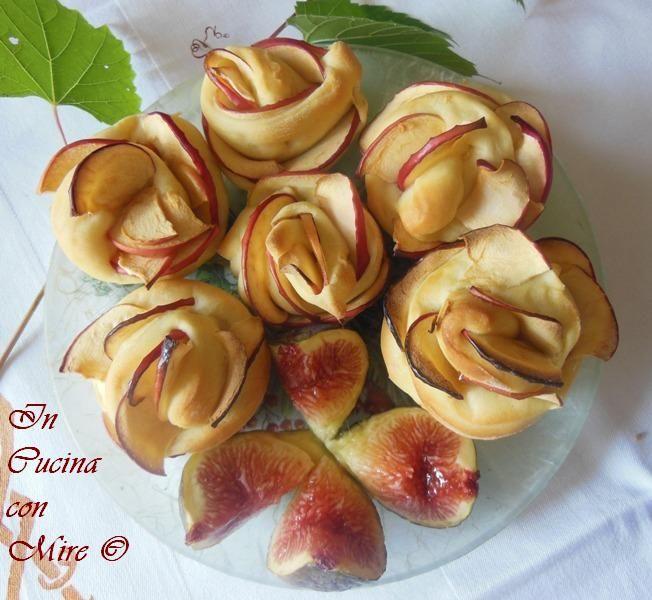 Rose alle mele di pastabrioche | In cucina con Mire