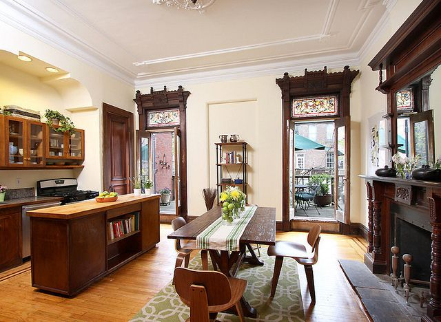 156 best images about brownstones on pinterest house tours new york and victorian interiors Brooklyn brownstone interior