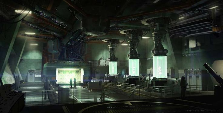 Laboratory Concept Art From Thebureauxcomdeclassified By